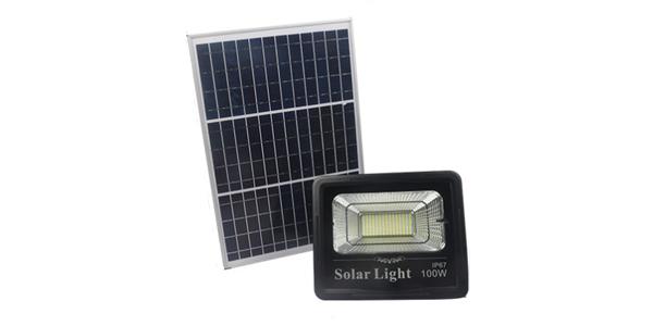 solar flood light 60w