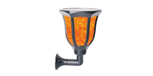 flame solar exterior landscape lights