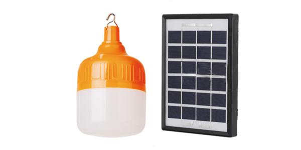 solar charging bulb
