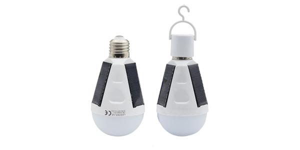 solar light garden bulb
