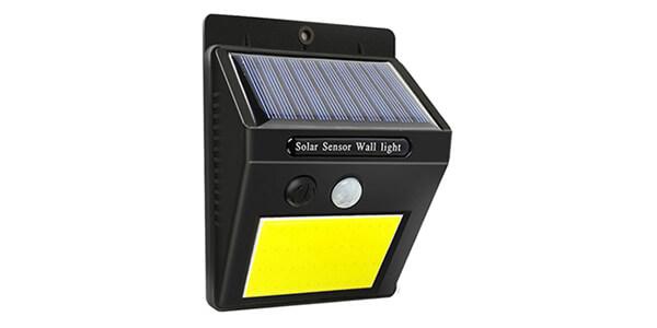 solar wall light outdoor cob