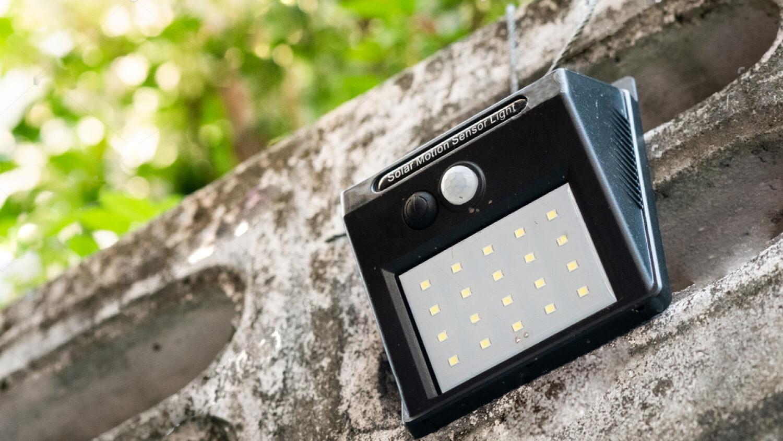 solar wall lights motion sensor