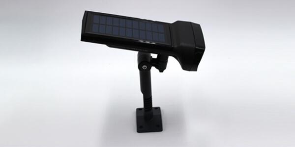 solar led fence wall light